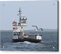 Ferry To Ocracoke 4 Acrylic Print