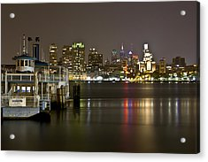 Ferry To The City Of Brotherly Love Acrylic Print