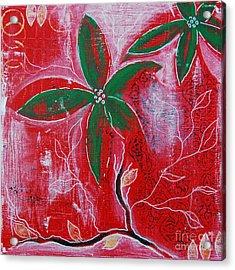 Festive Garden 3 Acrylic Print