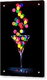 Festive Martini Acrylic Print