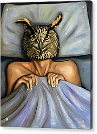 Fetish Nightmare 2 Acrylic Print by Leah Saulnier The Painting Maniac