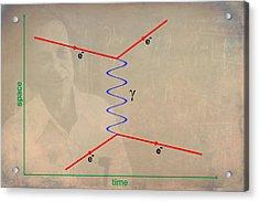Feynman Diagram Acrylic Print