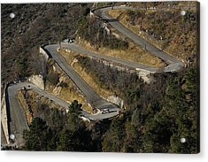 Fia World Rally Championship Monte-carlo -  Day Four Acrylic Print by Massimo Bettiol