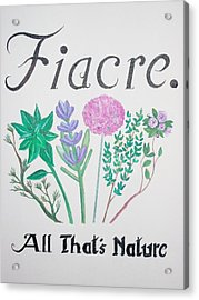 Fiacre Acrylic Print