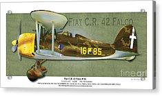 Fiat C.r. 42 Acrylic Print