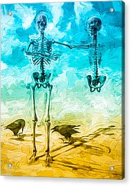 Fickle Finger Of Fate Acrylic Print