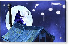 Fiddler On The Roof Acrylic Print by Steve Dininno