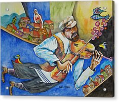 Fiddler On The Roofs Acrylic Print