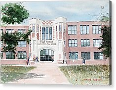 Field Kindley Memorial High School Acrylic Print