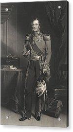 Field Marshal Lord Raglan Acrylic Print