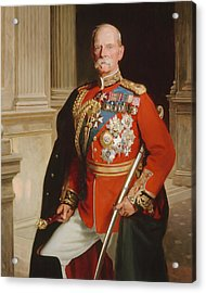 Field Marshal Lord Roberts Of Kandahar Acrylic Print by Frank Markham Skipworth