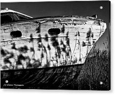 Field Of Boats Acrylic Print by Glenn Thompson