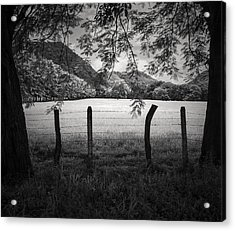 Acrylic Print featuring the photograph Field Of Dreams by Antonio Jorge Nunes