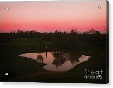 Field Of Dreams Part 2 Acrylic Print by Cris Hayes