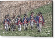 Field Of Honor American Revolution Acrylic Print