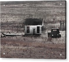 Field Treasures Acrylic Print by Kandy Hurley