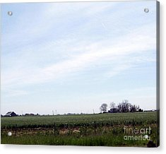 Acrylic Print featuring the photograph Fields Of Source by Bobbee Rickard