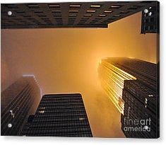 Fiery Look Up Acrylic Print by Graham Taylor