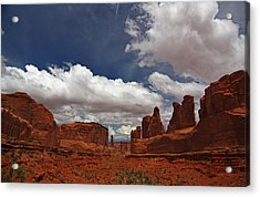 Fifth Avenue In Arches National Park Acrylic Print