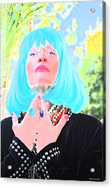 Fifth Dimension Is Here Acrylic Print