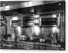 Fifties Kitchen Acrylic Print by Kathi Isserman