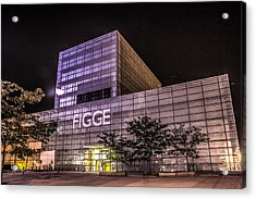 Figge Art Museum Acrylic Print by Ray Congrove