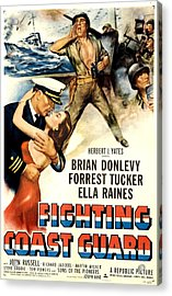 Fighting Coast Guard, Us Poster Acrylic Print