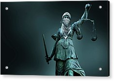 Fighting For Justice Acrylic Print by Smetek
