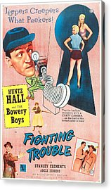 Fighting Trouble, Us Poster, Adele Acrylic Print by Everett