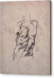 Figure Study Acrylic Print