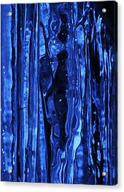 Figure Within Acrylic Print