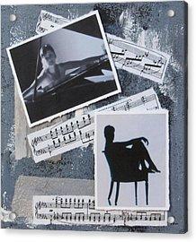 Figures Acrylic Print