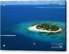 Fiji - South Pacific Paradise Acrylic Print by Lars Ruecker