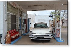 Fill Er Up Acrylic Print