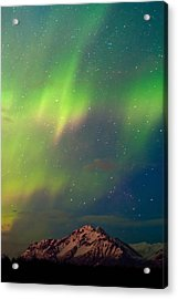 Filled With Aurora Acrylic Print by Ron Day
