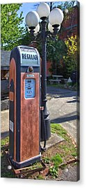 Fill'er Up Acrylic Print by Gordon Elwell