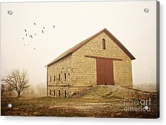 Filley Stone Barn 1 Acrylic Print