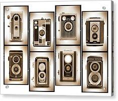 Film Camera Proofs 4 Acrylic Print by Mike McGlothlen