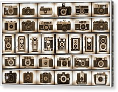 Film Camera Proofs Acrylic Print