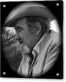 Film Noir Fritz Lang Broderick Crawford Glenn Ford Human Desire 1954 Tucson Arizona 1969 Acrylic Print by David Lee Guss
