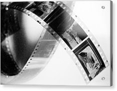 Film Strip Acrylic Print by Tommytechno Sweden