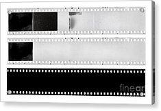 Film Strips Acrylic Print