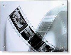 Film Strips Acrylic Print by Tommytechno Sweden
