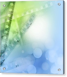 Filmstrips Acrylic Print