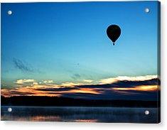 Final Flight - Hot Air Balloon Ride Acrylic Print by Gary Smith