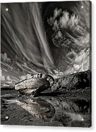 Final Place (mono) Acrylic Print by ?orsteinn H. Ingibergsson