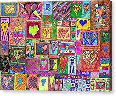 find U'r love found v6 Acrylic Print