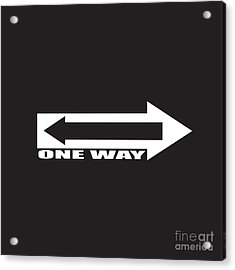 Find Your Way Acrylic Print