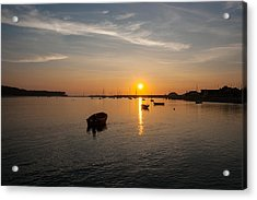 Findhorn Sunset Acrylic Print
