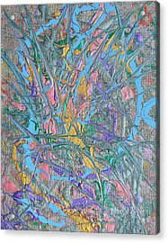 Finding Easter Acrylic Print by Donna Blackhall